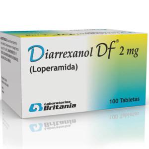 Diarrexanol DF 2 Mg Tabletas Caja 100