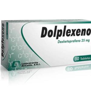 Dolplexeno 25Mg Tableta Caja/30