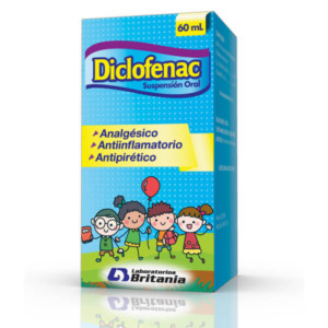 Diclofenac Suspension Oral 60 mL