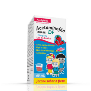 Acetaminofen Jarabe. 60mL