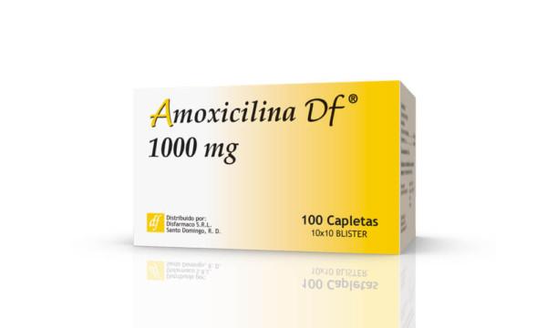Amoxicilina 1000 mg alu caja