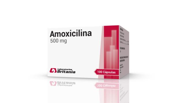Amoxicilina 500mg caja x 100