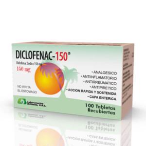 Diclofenac 150 caja 100