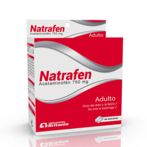 Natrafen Acetaminofen 750 caja B